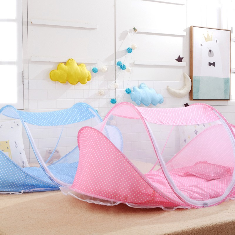 Instant Pop Up Portable Baby Travel Bed