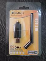 High Quality Mini 300M USB wireless lan adapter WiFi adapter dongle Wireless network Networking Card
