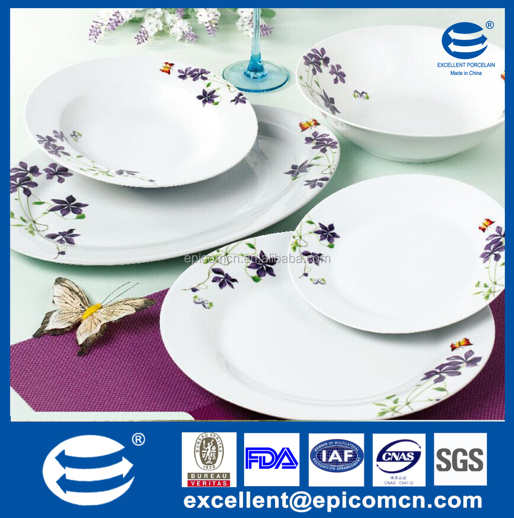 2015 new products 20pcs Portuguese ceramic dinnerware set for 6 person purple design royal dinner set  sc 1 st  Alibaba & 2015 New Products 20pcs Portuguese Ceramic Dinnerware Set For 6 ...