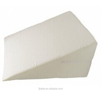 removable cover foam bed wedge pillow mattress wedge for body and legs