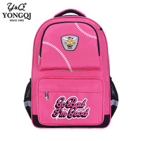 Customized large size student school backpack bag