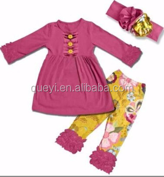 88c90f8fb053 Baby Winter Outfit Girls 3 Pieces Sets With Headbands Baby Girls ...