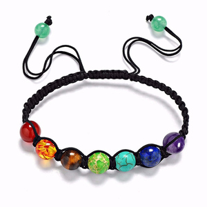Plus size lava adjustable bangle bracelet