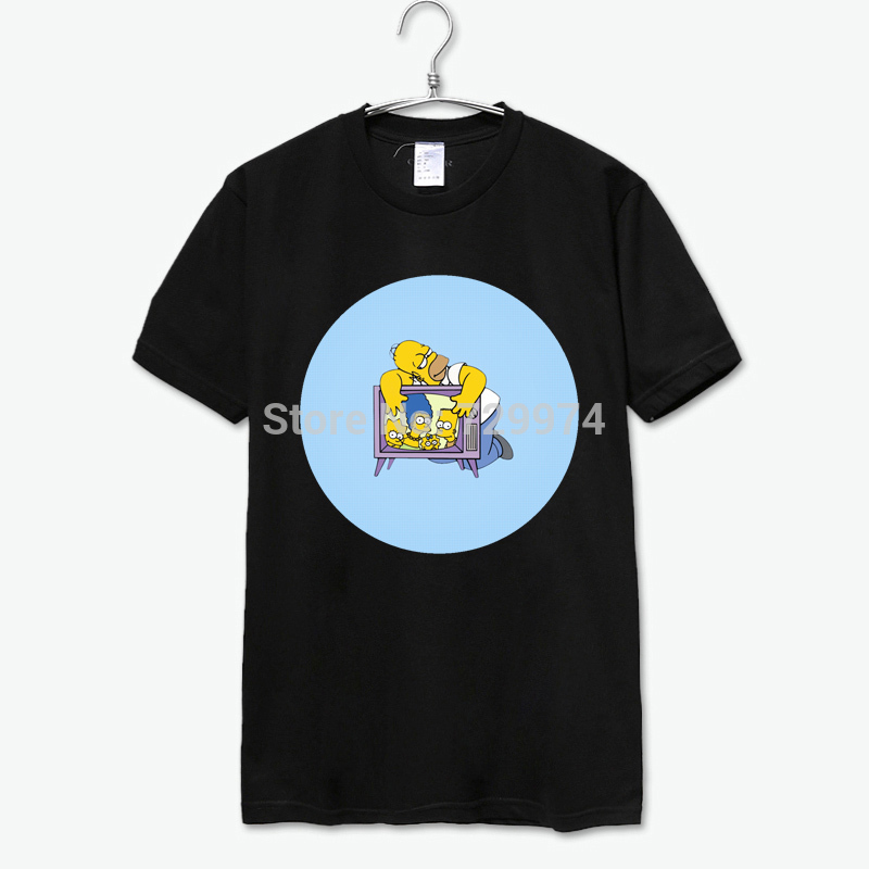 176af2139e Get Quotations · homer simpsons I love my family on TV cotton tee shirt men  women sweat shirt