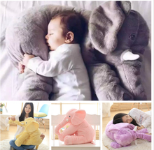 Soft children baby elephant plush toy pillow multifunctional pillow