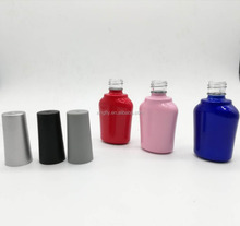 16ml Glass Nail Polish Bottles With Frosted Screw Caps In China