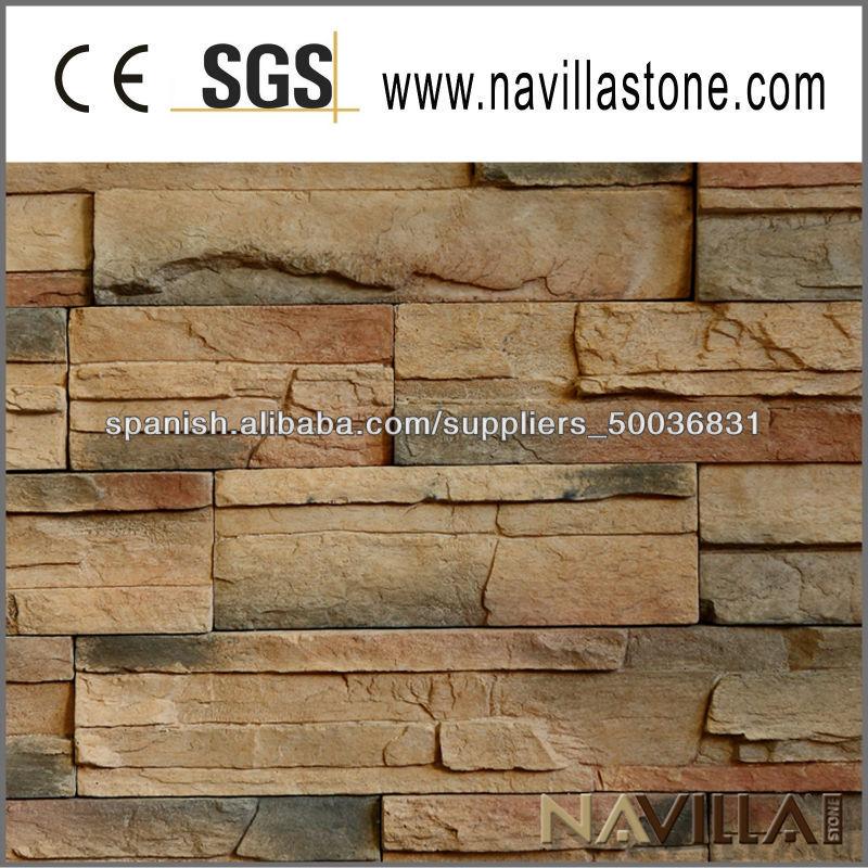 Piedras para la casa de la pared exterior piedras for Piedra natural para exterior
