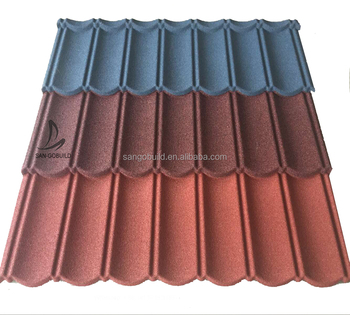 Thatch Color New Clic Roofing Materials Artificial Stone Coated Roof Tile