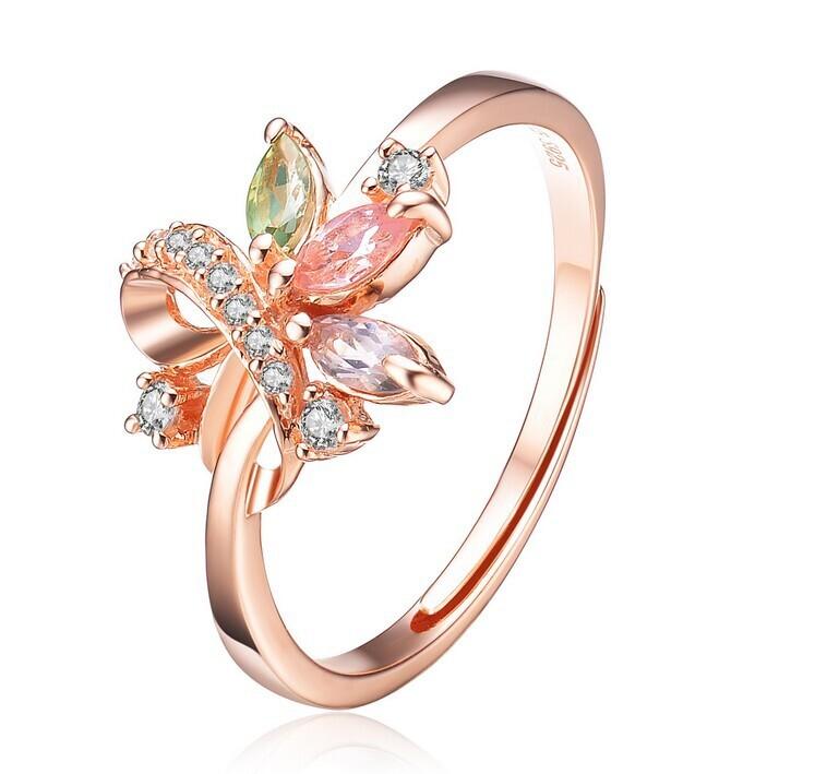 New model jewelry 925 silver new design finger ring MSQR6038B ...