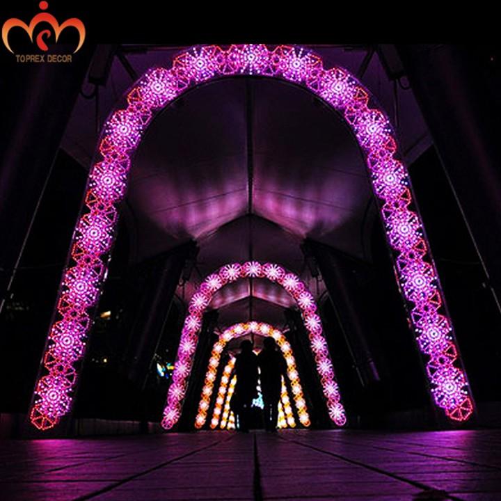 Dmountable Led Arch Wedding Banquet Halls Buy Led Arch Wedding