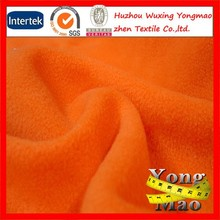 factory supply brushed polyester anti pill polar fleece for sweater knit fabric