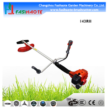 gas-powered shoulder garden grass cutter