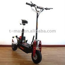 Foldable 31cc/37.7cc gas scooter with CE approval