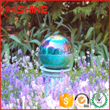 Garden decorative large hollow stainless steel coloured balls