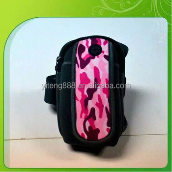 Neoprene Waterproof sports arm bag Mobile Phone cases