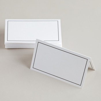customized printing and shape paper table tent cards buy paper