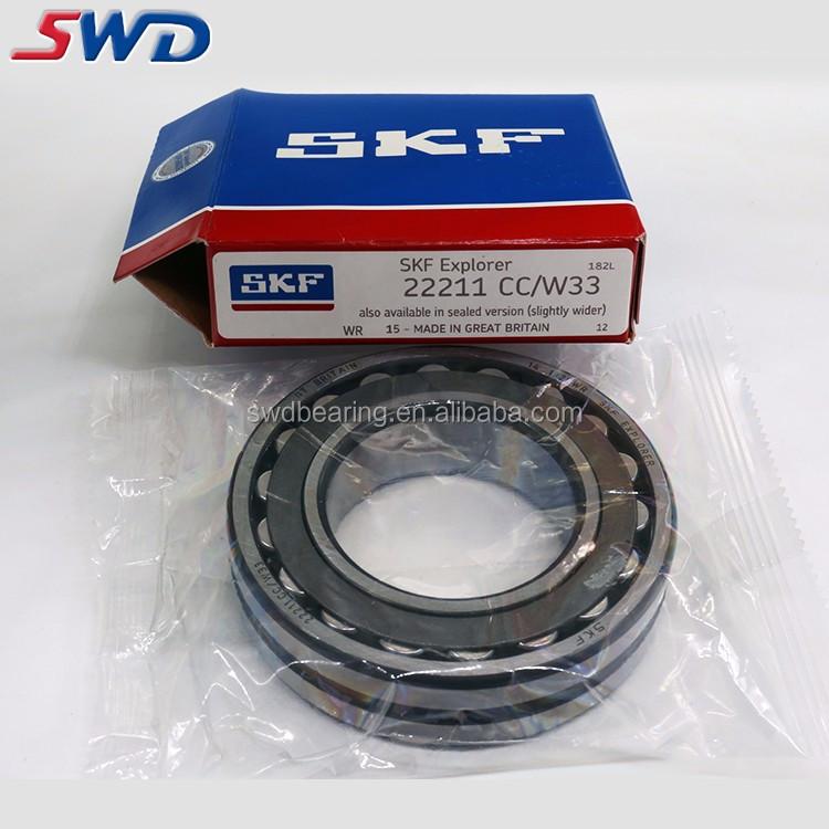 Original Brand Skf Bearings 22211 Cc/w33 Spherical Roller Bearing Price  List - Buy Roller Bearing Price,Skf Bearings,22211 Bearing Product on