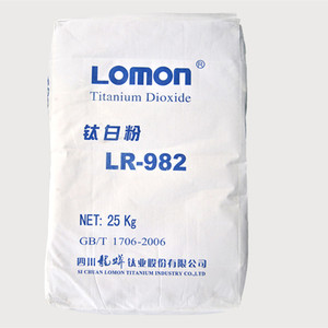 Factory Supply Surface printing inks Use LR-982 pigment Rutile Titanium Dioxide Tio2