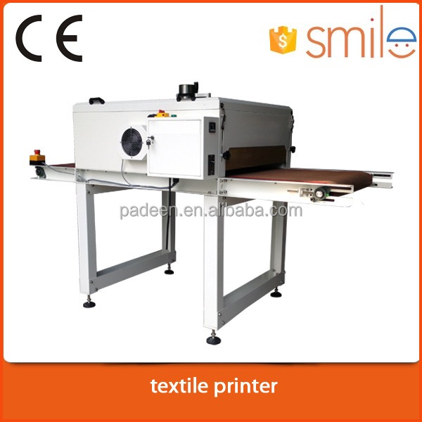 Fast speed IR Hot Drying Tunnel Screen Printing Conveyor Dryer