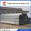 EN 10142-2000 DX51 Z80 galvanized tube in stock