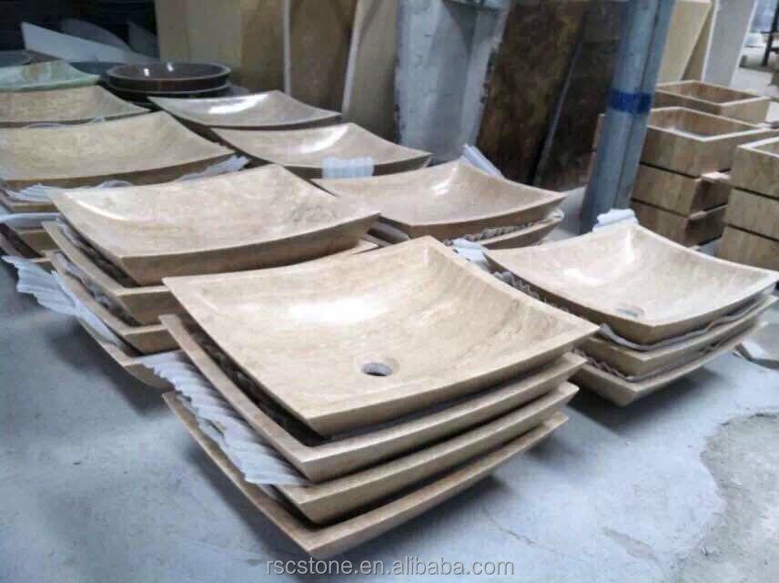 carrara stein waschbecken bad waschbecken k che. Black Bedroom Furniture Sets. Home Design Ideas