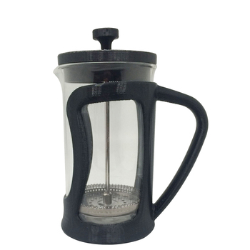 Borosilicate Glass Bottle Stainless Steel Plunger French Press Coffee&Tea Maker