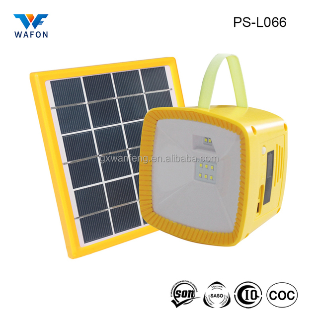 PS L066 Multifunctional Led Solar Camping Lamps And Lanterns Or Solar  Emergency Lights With FM