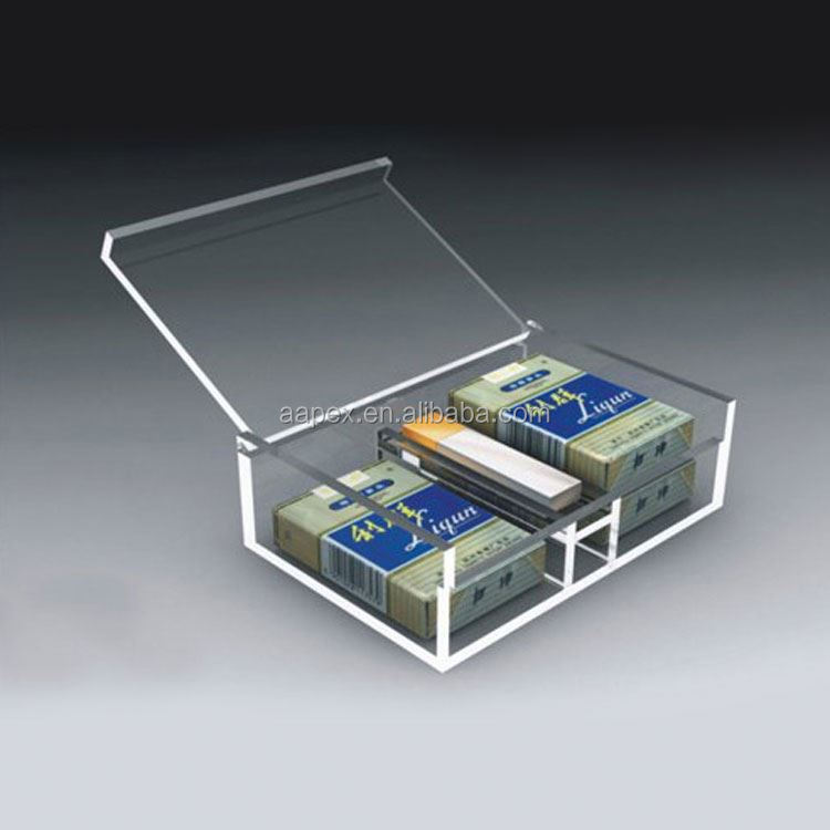 ACRYLIC LOCKING VAPE CIGARETTE DISPLAY CASE