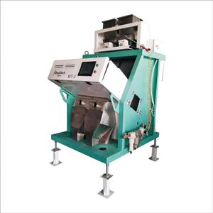 Two chutes ccd optical sorter Rice color sorting machine