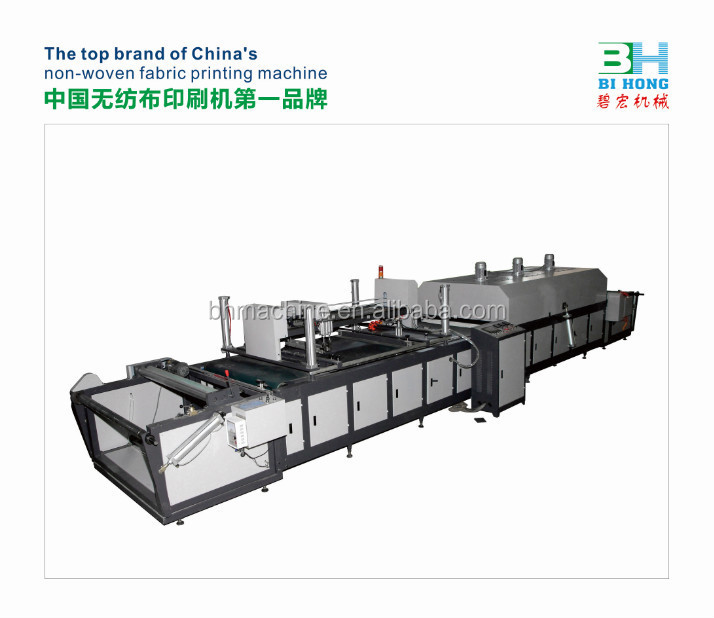 Best Factory Price Sticker/Non-woven Roll to Roll Silk Screen Printing Machine for One/Two Color Printing