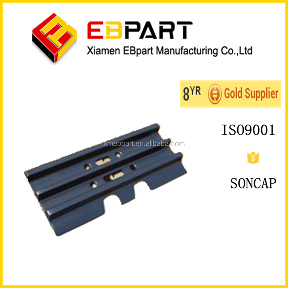 EBPART PC200-7track shoes 20Y-32-02060 track link 20Y-31-11311 track shoe pin excavator undercarriage shoes