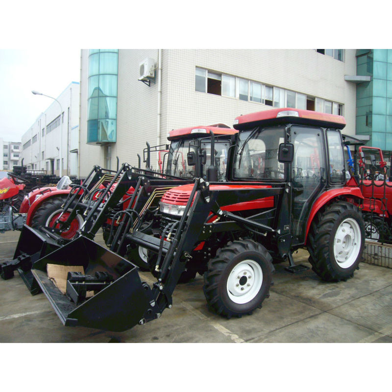 35HP jinma 354 tractor JINMA mini garden tractors 35HP tractor with cabin and 4 in 1 Front end loader