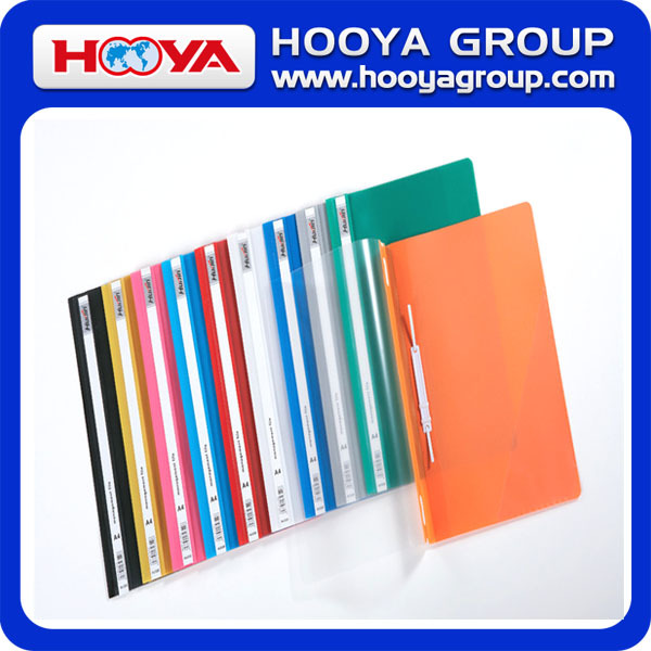A4 Multi-color Pp Two Holes File Folder Report Binding