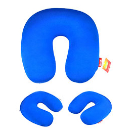 Compressible animal cartoon cloudz travel pillow for child