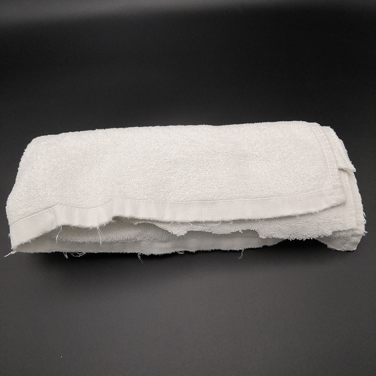 Machine cleaning cotton hotel towel industrial wipes rags