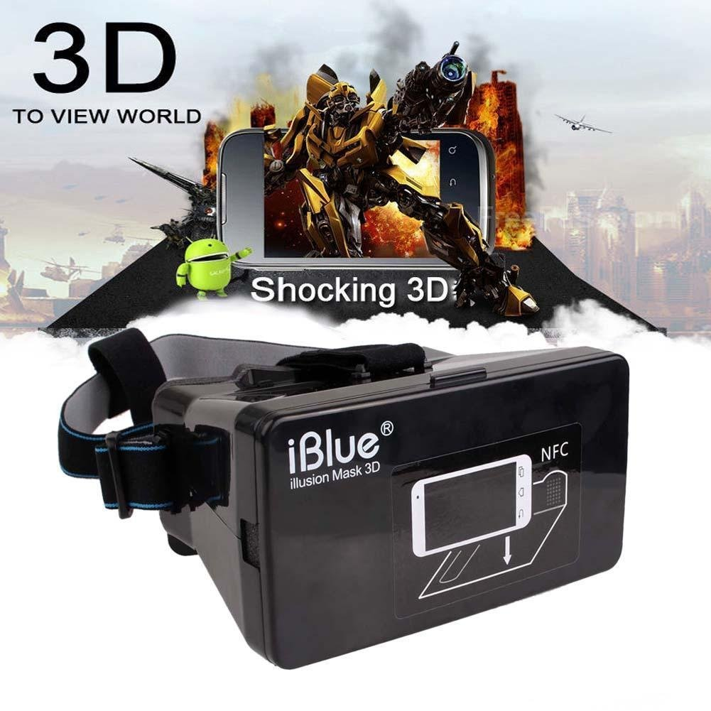Sun YOBA Plastic Virtual Reality 3D Video Glasses for Phone Google Cardboard With NFC