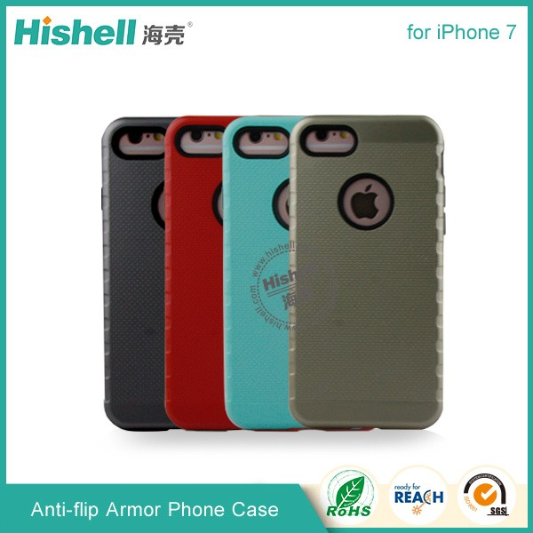 Anti-flip Armor cell phone Case for iphone7