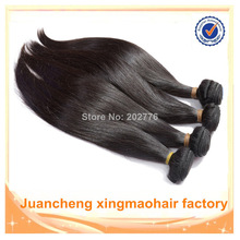 Fast delivery factory wholesale bresilienne human hair weaving