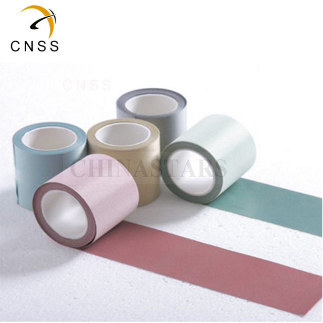 CSR-1303-5 Light White Reflective Fabric Tape Rolls 140CM Width Every Meter for Outer Shell Reflective Fabric
