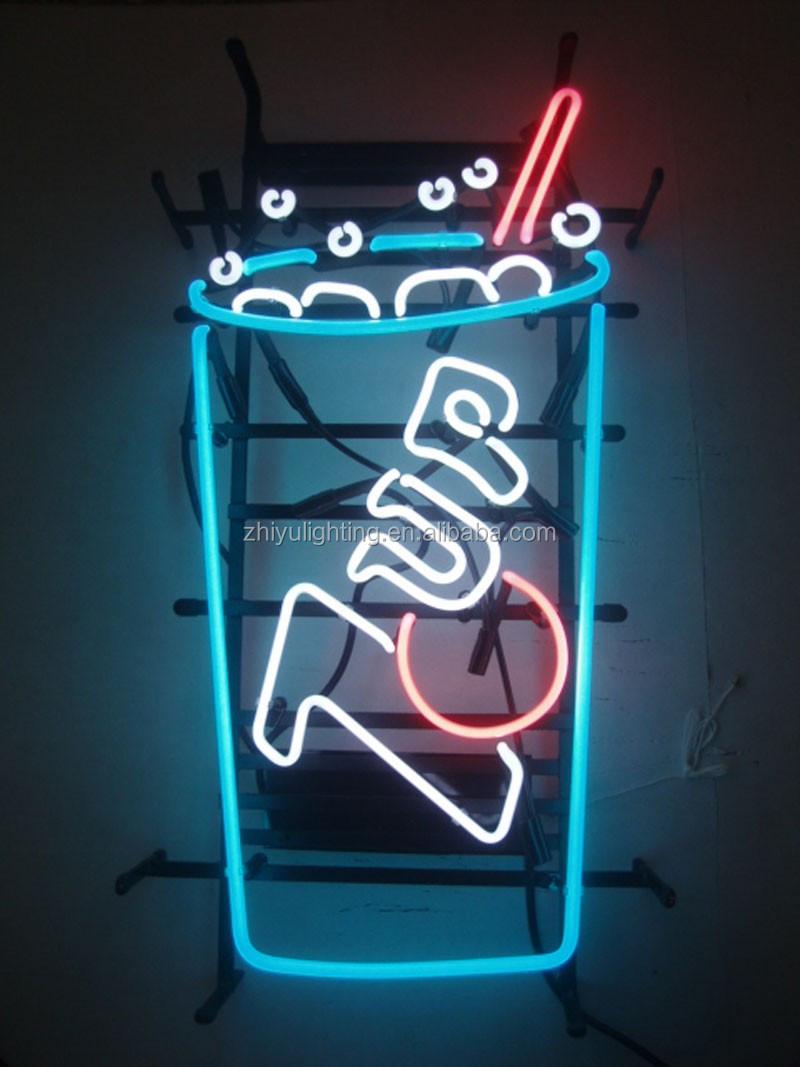 Bar Sign Neon Verlichting/glazen Buis Neon Lichten/bierfles Neon ...