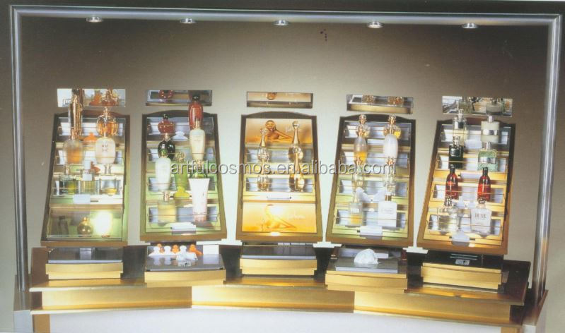 Office Counter-Top Full-Printed Reservation Stand For Bank Acrylic Beauty Store Cosmetic Product Display From China Stands