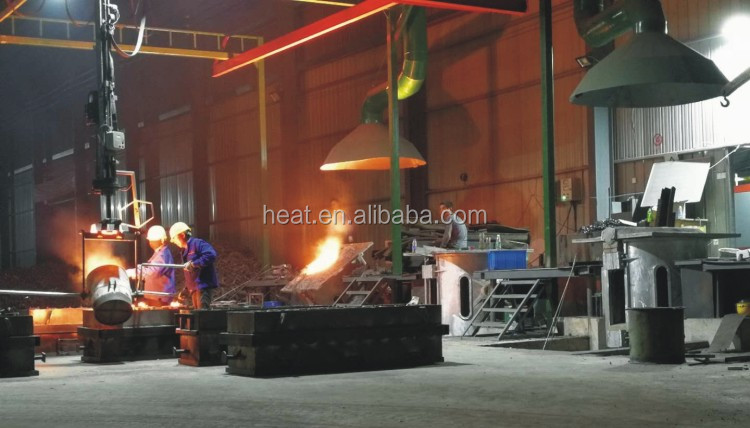 Making ingots 100-5000kgs industrial electric furnace aluminum smelter