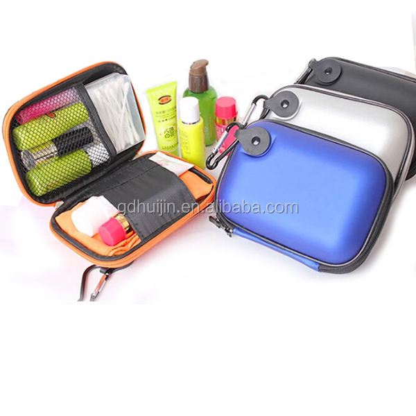 Traveling leather Cosmetic EVA Beauty Case