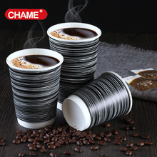 Factory Price Disposable Kraft Paper Coffee Cup