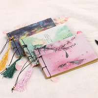 Chinese style vintage diary retro notebook sketchbook in stock