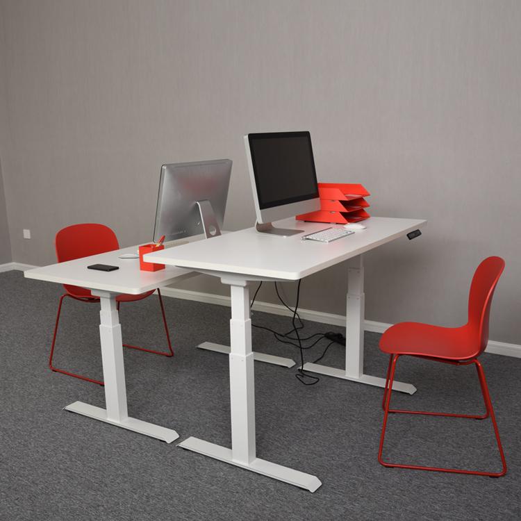 Mobilya Ayarlanabilir Elektrikli Yükseklik Ayakta Modern Yönetici Ev Ofis Masası