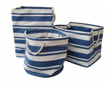 new england blue white stripe square canvas bags round canvas bags rectangular canvas bags
