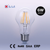 High Brightness E26 E27 B22 LED Filament Bulb Light wholesaler 8w led light bulb A60 6W