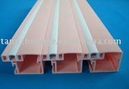 Different color Co-extrusion rigid profile for curtain rail