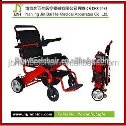 economical folding electric wheelchair for handicapped